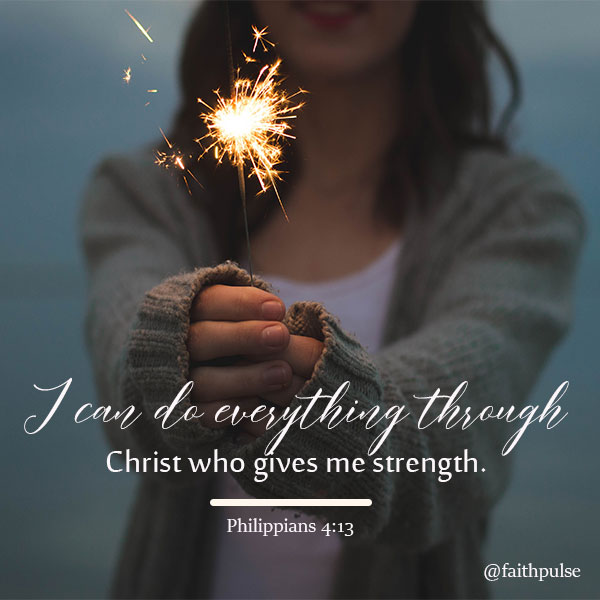 Bible Verses For Faith In Hard Times  - Philippians 4:13-2